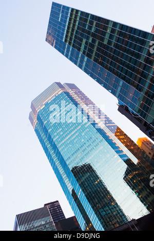 Skyscrapers angular view - Stock Photo