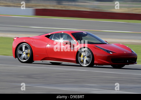2011 ferrari 458 italia red italian supercar steering wheel and stock photo royalty free image. Black Bedroom Furniture Sets. Home Design Ideas