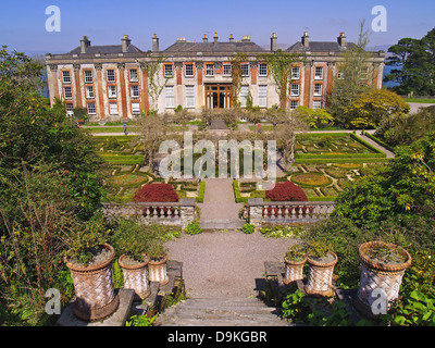 Bantry House Gardens And Bay County West Cork Ireland Stock Photo Royalty