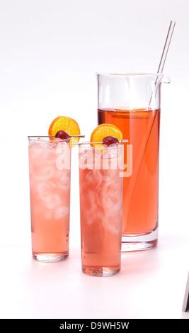 pomegranate drink - Stock Photo