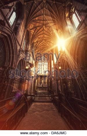chapel light - Stock Photo