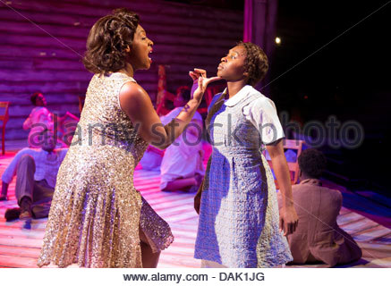The Color Purple, A Musical based on the novel by Alice Walker . Book by Marsha Norman. Music and Lyrics by Brenda - Stock Photo