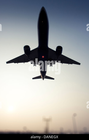 Commercial airliner - Stock Photo
