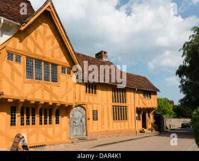 Little Hall in Lavenham Suffolk - Stock Photo