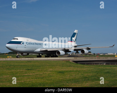 B-HUP Cathay Pacific Boeing 747-467F - cn 30805 3 - Stock Photo