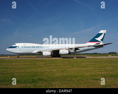 B-HUP Cathay Pacific Boeing 747-467F - cn 30805 6 - Stock Photo