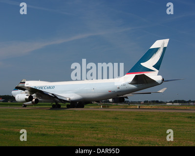 B-HUP Cathay Pacific Boeing 747-467F - cn 30805 8 - Stock Photo