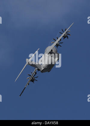 Fairford, UK. 20th July, 2013. Airbus Military A400M Atlas transport aircraft which will shortly be entering service - Stock Photo