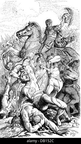 Moaner ancient latins illustration