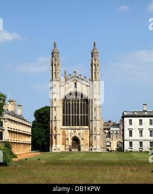 Cambridge, Kings College Chapel, University England UK English universities chapels - Stock Photo