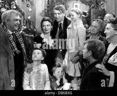 It 39 S A Wonderful Life Rko 1947 Directed By Frank Capra Spanish Stock Photo Royalty Free