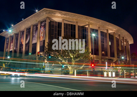 Dorothy Chandler Pavilion, Los Angeles Music Center, California - Stock Photo