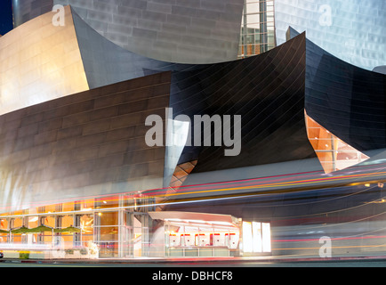 Walt Disney Concert Hall in Los Angeles, California - Stock Photo