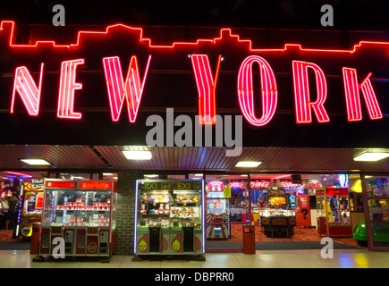 New york new york neon sign in las vegas nevada stock for 24 hour nail salon new york city