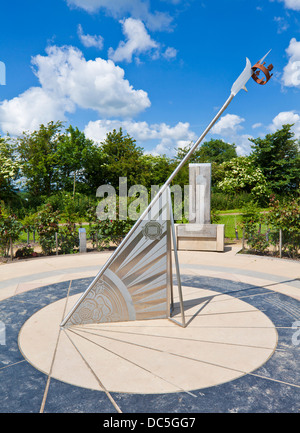 Sundial Memorial Bosworth Battlefield Heritage Centre And
