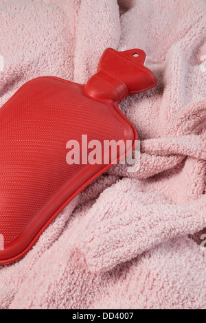 Hot Water Bottle Still Life - Stock Photo