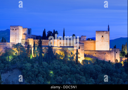 La Alcazaba Medieval Moorish fortress Almeria Spain Europe Stock Photo, Royal...