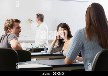 how to stop students from talking in class