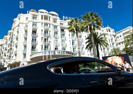 Europe, France, Alpes-Maritimes, Cannes Film Festival, Hotel Martinez Palace. - Stock Photo