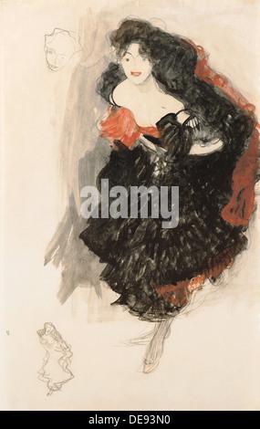 Study for Judith II, c. 1908. Artist: Klimt, Gustav (1862-1918) - Stock Photo