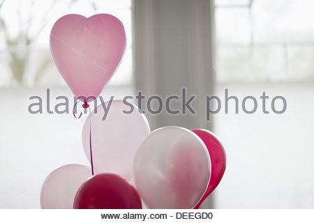 Heart-shape balloon - Stockfoto