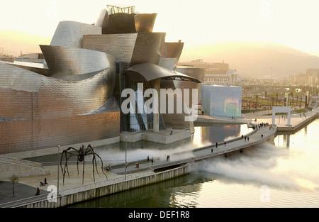 Guggenheim Museum. Bilbao. Bizkaia. Euskadi. Spain. - Stock Photo