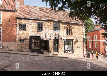 norman house steep hill lincoln lincolnshire england