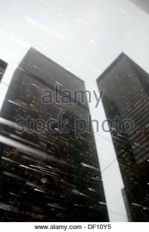 Skyscrapers in North America - Stock Photo