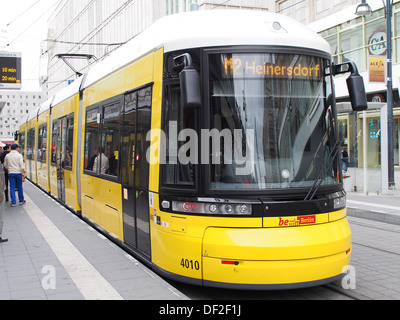 berlin germany public transport bvg bus stop sign showing bus route stock photo 18415816 alamy. Black Bedroom Furniture Sets. Home Design Ideas