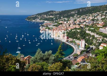 Villefranche-sur-Mer, Provence-Alpes-Cote d'Azur, France, Europe - Stockfoto