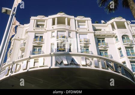 Cannes Croisette Alpes-Maritimes 06 PACA France French Riviera Cote d´Azur Europe - Stock Photo