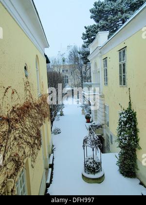 -Winter in Wien (Austria). - Stock Photo