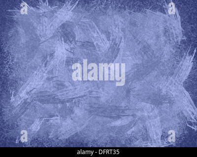 Violet ice illustration as abstract background, horizontal - Stock Photo