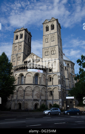 cologne saint gereon church stock photo royalty free image 54913003 alamy. Black Bedroom Furniture Sets. Home Design Ideas