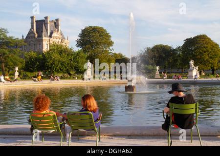 Grand bassin in jardin du luxembourg stock photo royalty free image 33619556 alamy - Grand bassin de jardin ...
