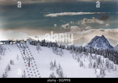 Snow Summit Ski Area And Vacation Homes At Big Bear Lake San Stock Photo Royalty Free Image