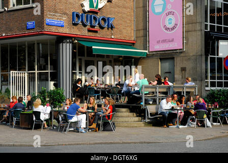 Netherlands south holland rotterdam coffee dudok brasserie for Terrace 6 pub indore