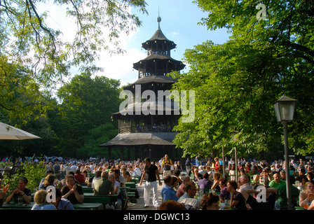 chinese pagoda english garden munich germany stock photo royalty free image 30786648 alamy. Black Bedroom Furniture Sets. Home Design Ideas