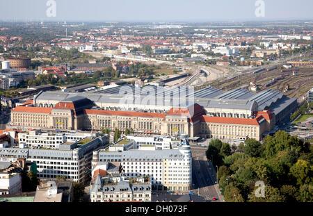 Central railway station, Leipzig, PublicGround - Stock Photo