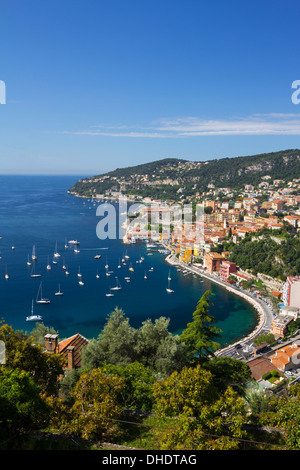 Villefranche-sur-Mer, Provence-Alpes-Cote d'Azur, French Riviera, Provence, France, Mediterranean, Europe - Stock Photo