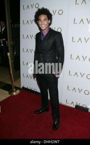 Las Vegas, NV, USA. 10th Nov, 2013. Trey Smith, DJ ACE at arrivals for DJ Ace Trey Smith 21st Birthday Party, LAVO - Stock Photo