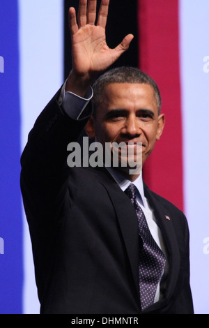US President Barack Obama during a visit in Israel March 21st 2013 - Stock Photo
