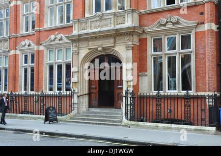 CINNAMON CLUB GT SMITH STREET LONDON UK - Stock Photo