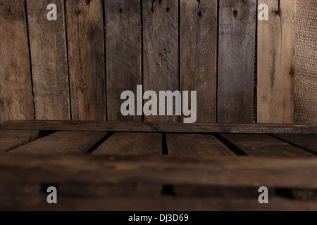 old wooden crates - Stockfoto