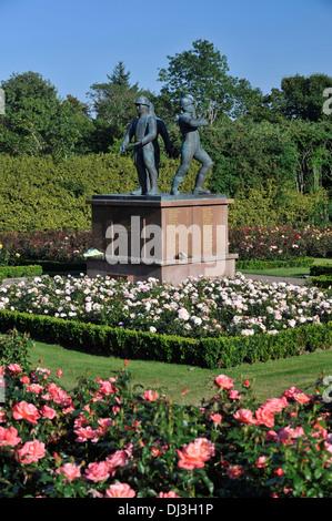 Piper Alpha Memorial Rose Garden In Hazelhead Park