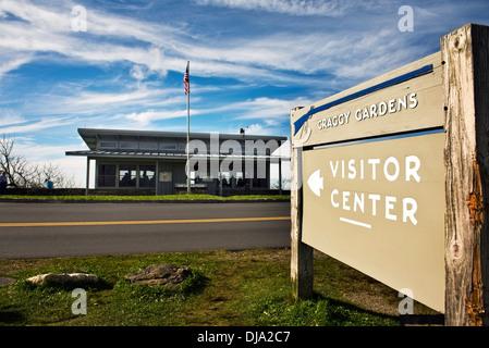 Blue Ridge Parkway Destination Center Asheville North Carolina Usa Stock Photo Royalty Free