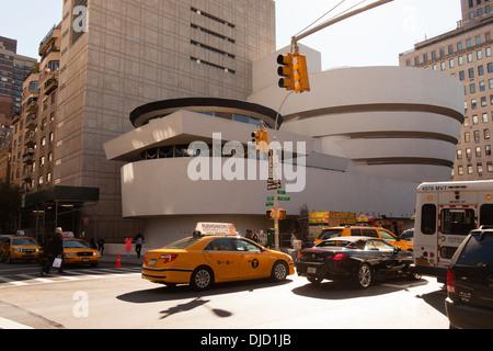 Solomon. R. Guggenheim Museum, New York City, United States of America. - Stock Photo