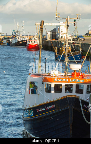 Fishing boats at amble harbour in northumberland on the for How to not get seasick on a fishing boat