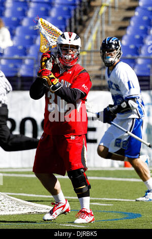 Mar. 06, 2010 - Baltimore, Maryland, U.S - 06 March 2010: Maryland Goalie Brian Phipps #30 action during the Duke - Stock Photo