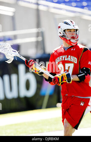 Mar. 06, 2010 - Baltimore, Maryland, U.S - 06 March 2010: Maryland's Ryan Young in action during the Duke versus - Stock Photo